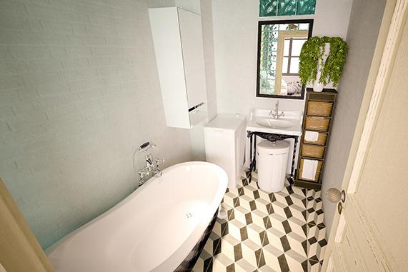 evitar moho en baño