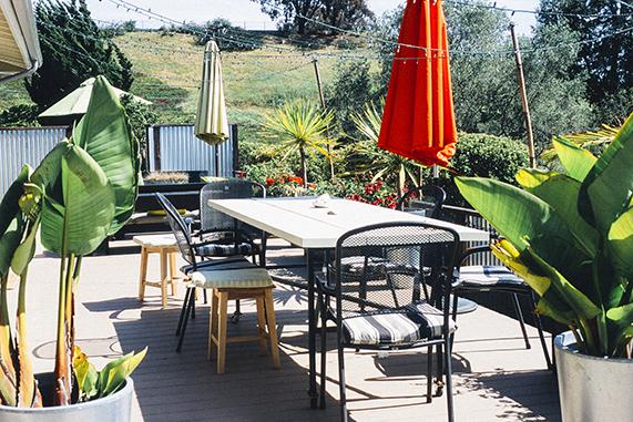 cómo cuidar los muebles de jardín en invierno