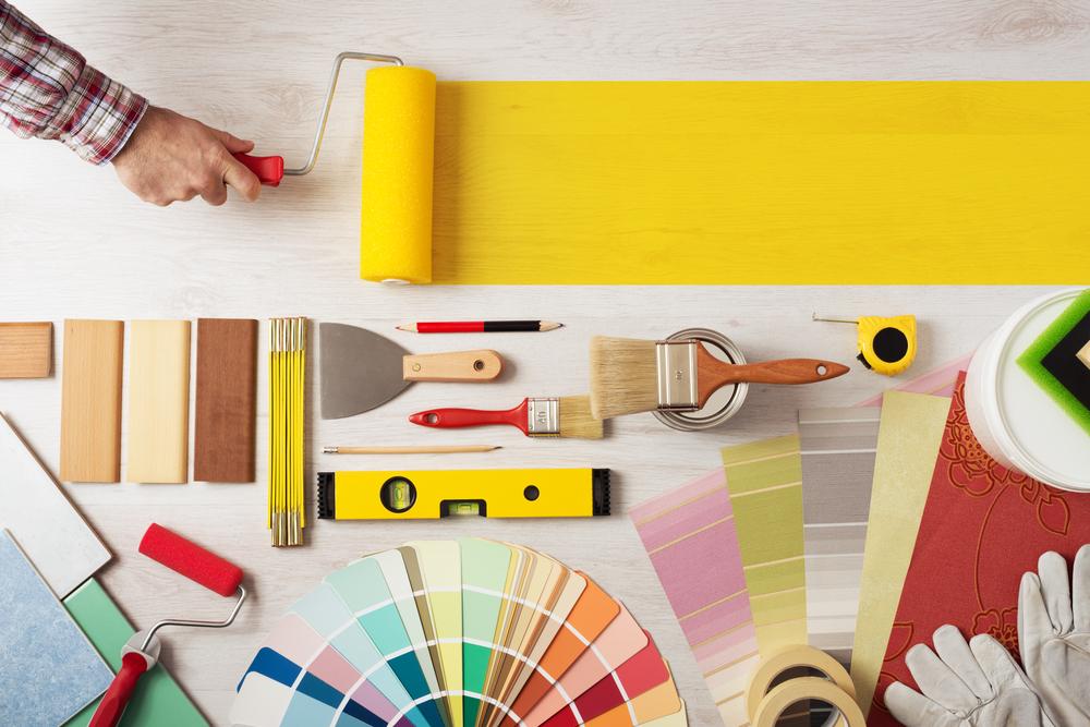 Pintar la casa: herramientas imprescindibles