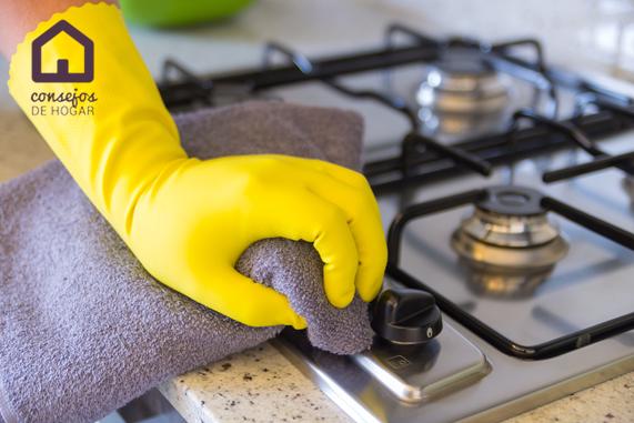 Trucos para limpiar la cocina en poco tiempo